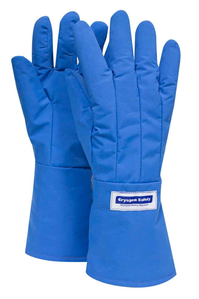 National Safety Apparel Waterproof Mid-Arm Length Cryogenic Gloves:Gloves,