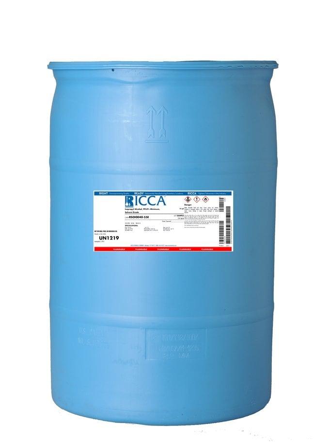 Isopropyl Alcohol, 70% v/v, Solvent Grade, Ricca Chemical Company™