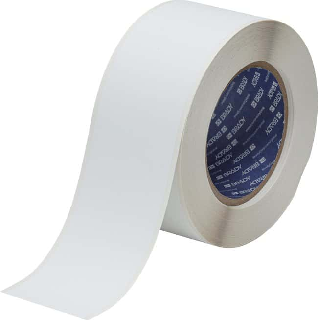 BradyBradyJet J5000 Repositionable Inkjet Vinyl Labels:Facility Safety