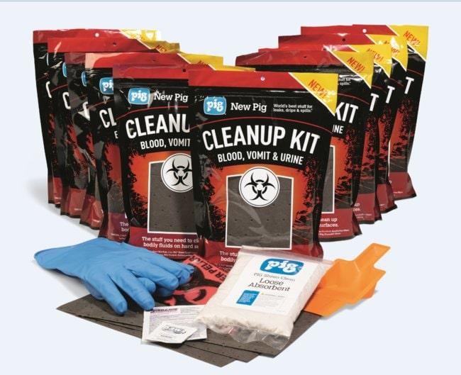 New PigBlood, Vomit & Urine Spill Kit