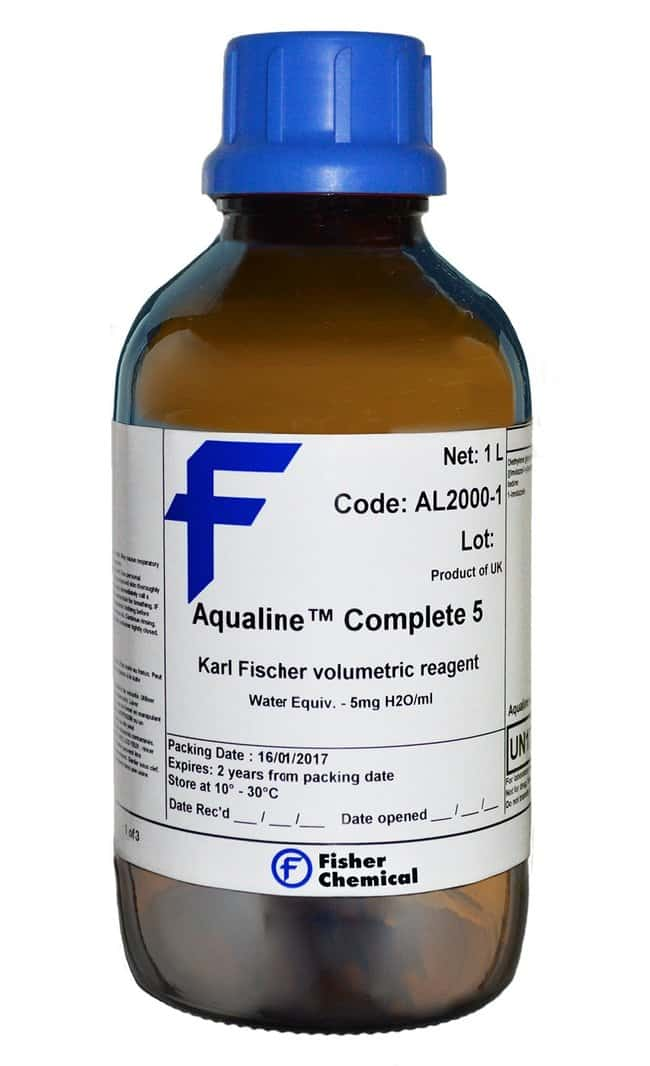 Karl Fischer Aqualine™ Complete 5, for Karl Fischer Titration By Volumetry, Fisher Chemical