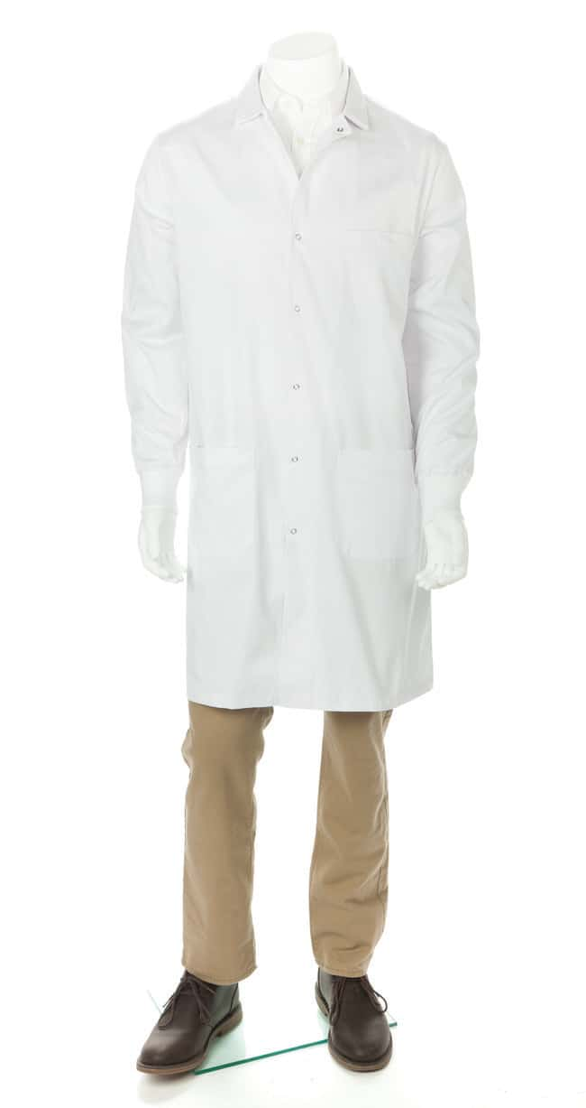 Fisherbrand Unisex Lab Coats With Knit Cuffs Large:Testing and Filtration