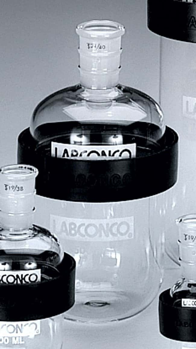 Labconco™ Lyph-Lock™ Freeze-Dry Flask Assembly with standard taper 19/38 Joints Capacity: 100mL Labconco™ Lyph-Lock™ Freeze-Dry Flask Assembly with standard taper 19/38 Joints