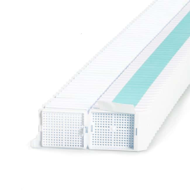 Simport™ ScientificUnisette™ Biopsy Processing/Embedding Cassette in Quickload™ stacks for Primera printers White Simport™ ScientificUnisette™ Biopsy Processing/Embedding Cassette in Quickload™ stacks for Primera printers