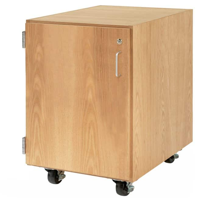 Diversified Woodcrafts M Series Rolling Cabinet   Maple; Layout: One door/Hinged