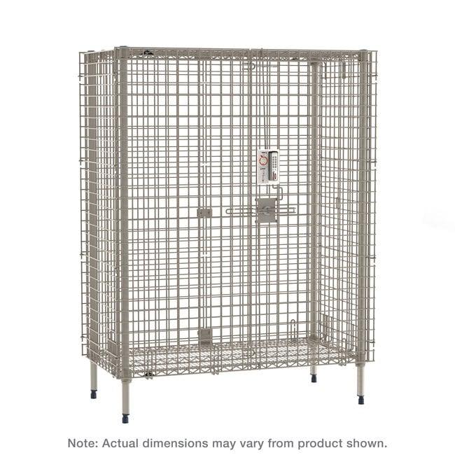 MetroMetroMax Stationary Security Shelving Unit:Furniture:Shelving