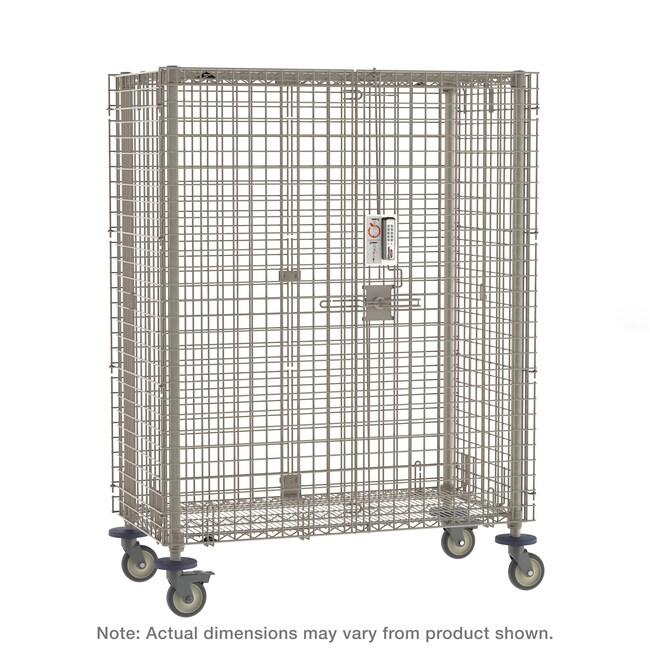 MetroMetroMax Mobile Security Shelving Unit:Furniture:Shelving