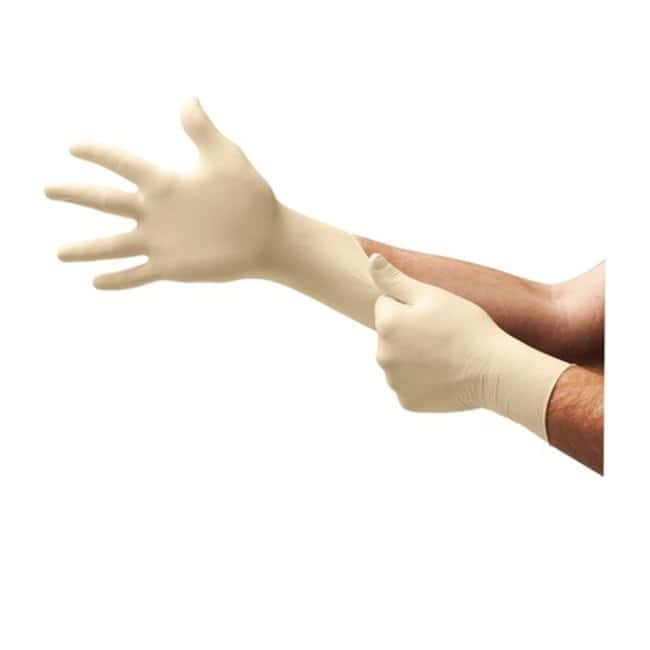 Microflex E-GRIP Latex Exam Gloves Medium:Gloves, Glasses and Safety