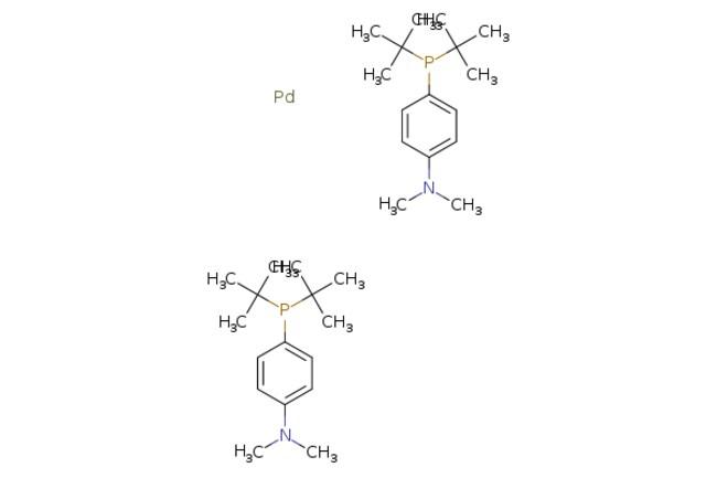 eMolecules Bis{[4-(N,N-dimethylamino)phenyl]di-t-butylphosphino}palladium(0),