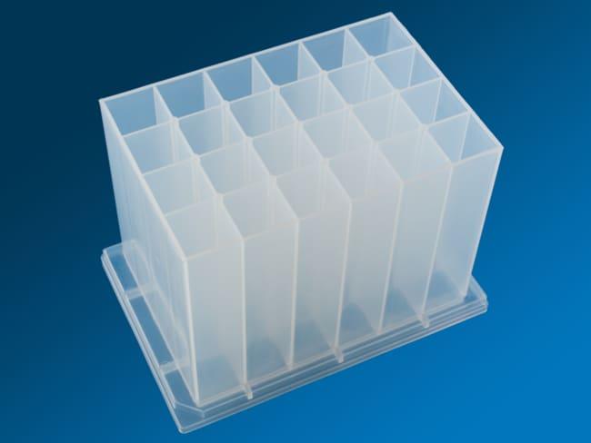 NEOGENESTAR LLCSuper Deep 24 Well Plate For 25ml, Polypropylene, 24 Plates/CS
