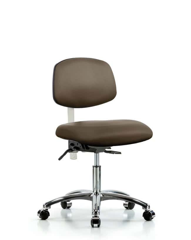 FisherbrandClass 100 Vinyl Clean Room Chair - Desk Height with Casters
