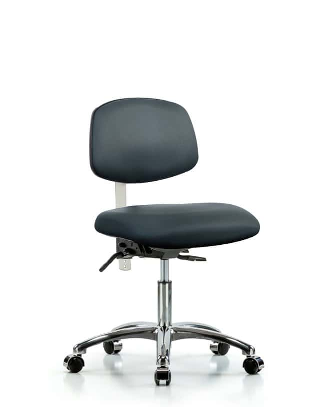Fisherbrand Class 100 Vinyl Clean Room Chair - Desk Height with Casters