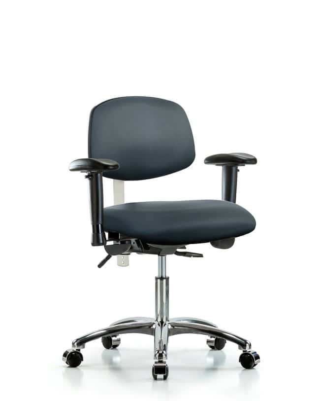 Fisherbrand Class 100 Vinyl Clean Room Chair - Desk Height with Adjustable