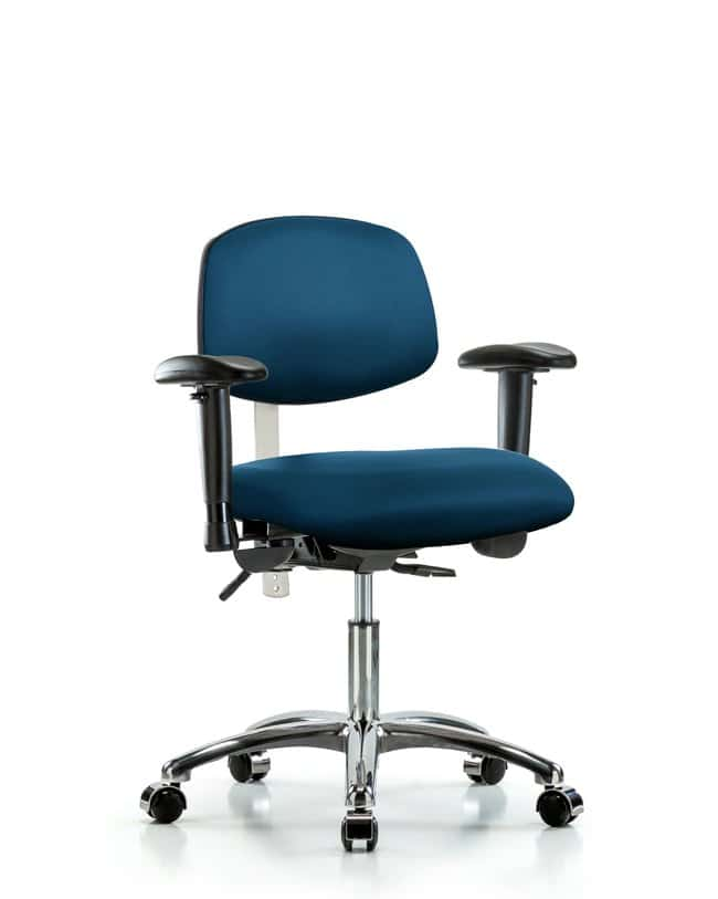 Fisherbrand Class 100 Vinyl Clean Room Chair - Desk Height with Seat Tilt