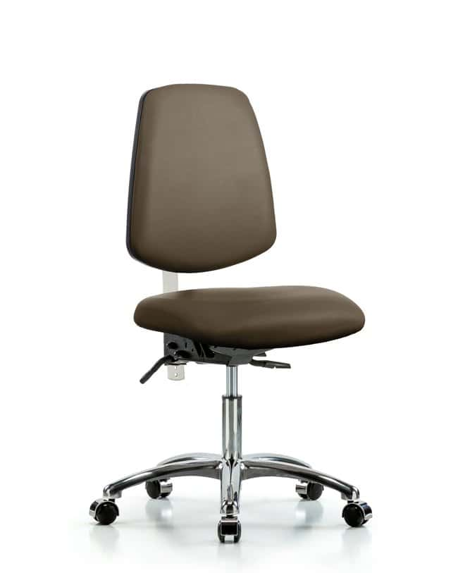 Fisherbrand Class 100 Vinyl Clean Room Chair - Desk Height with Medium