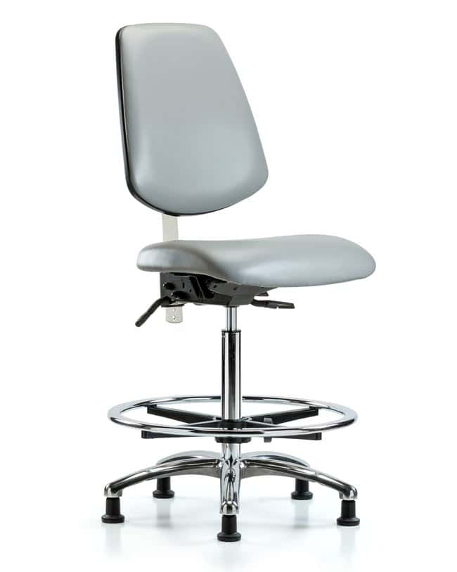 Fisherbrand Class 100 Vinyl Clean Room Chair - High Bench Height with Medium