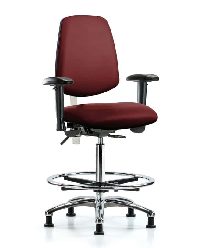 Fisherbrand Class 100 Vinyl CR Chair - High Bench Height with Med Back