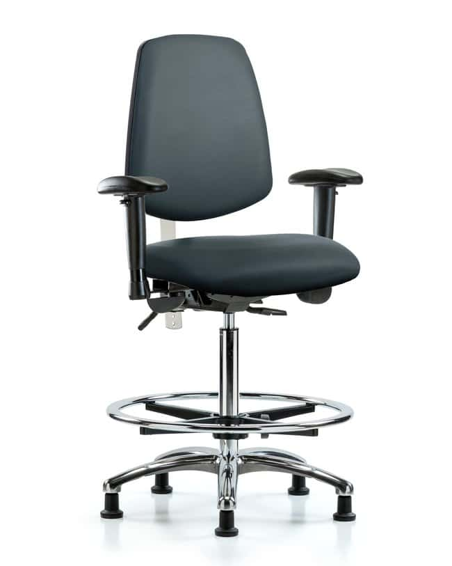 Fisherbrand Class 100 Vinyl CR Chair - High Bench Height with Med Back,