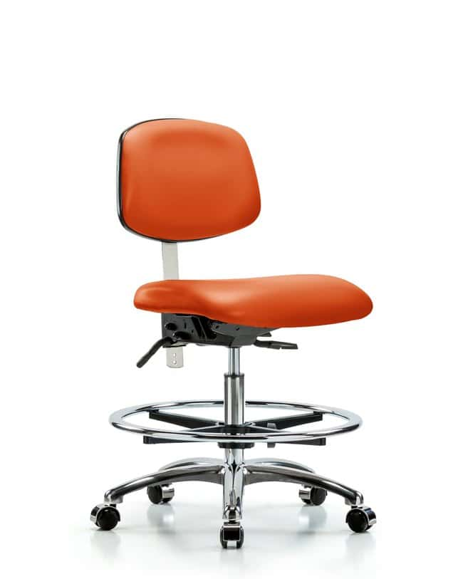 Fisherbrand Class 100 Vinyl Clean Room Chair - Medium Bench Height with