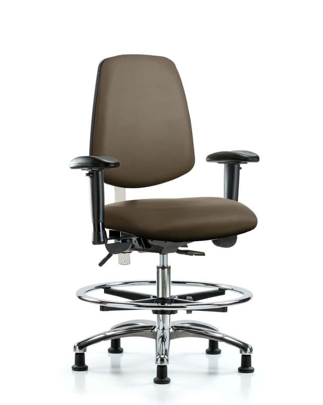Fisherbrand Class 100 Vinyl CR Chair - Med Bench Height with Med Back,