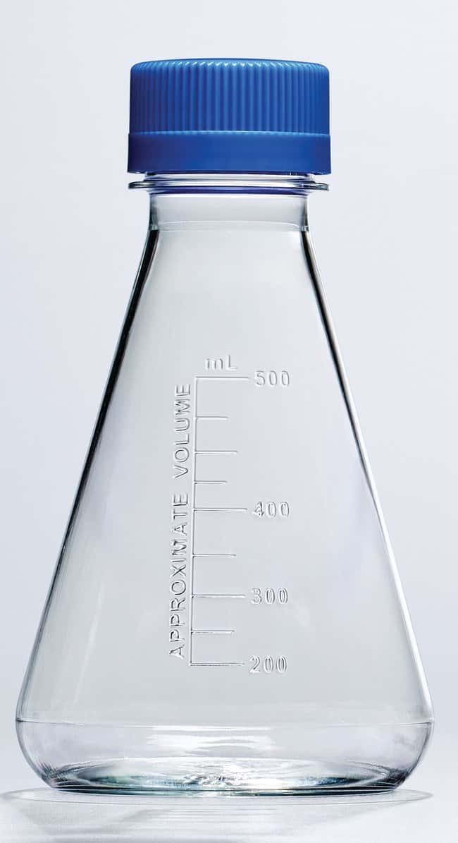 Thermo ScientificNalgene Single-Use PETG Erlenmeyer Flasks with Plain Bottom: