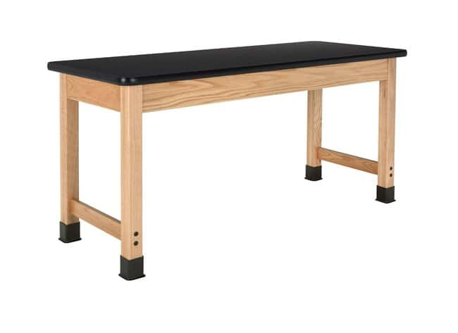 Diversified Woodcrafts Oak Table with  Plain Apron and Plastic Laminate