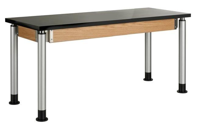 Diversified WoodcraftsAdjustable Height Oak Table:Furniture:Desks and Tables