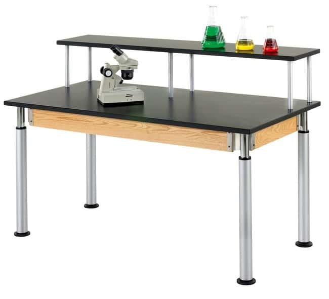 Diversified Woodcrafts Adjustable Height Riser Table :Teaching Supplies:Classroom