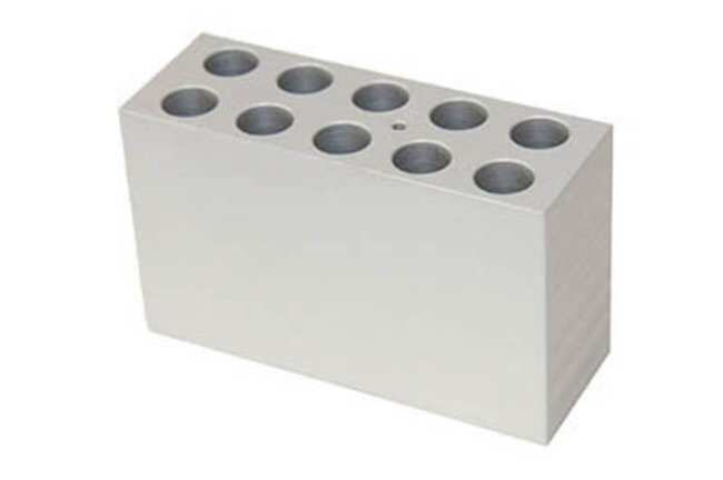 Grant Instruments™ Interchangeable Block for QB Series Dry Block Heaters Capacity: 10 Tubes; Tube size: 17mm Grant Instruments™ Interchangeable Block for QB Series Dry Block Heaters