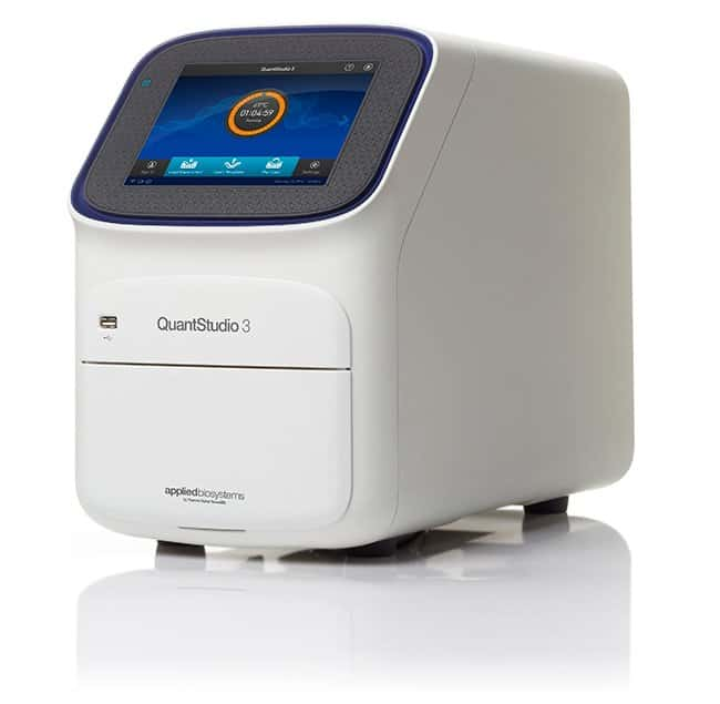 Applied Biosystems™ QuantStudio 3 package No PC, Block: 96 well, Warranty: 1 year manufacturers + 3 year Depot Repair Service with Loaned Instrument Applied Biosystems™ QuantStudio 3 package