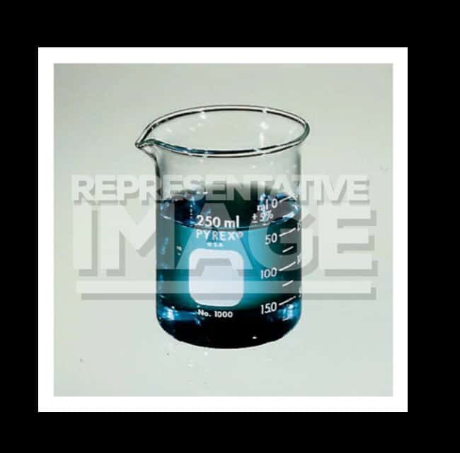 PYREX  Griffin Low Form Beaker with Double Graduated Metric Scale