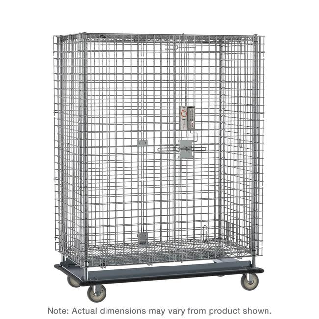 MetroSuper Erecta Heavy-Duty Mobile Security Shelving Unit, Chrome:Furniture:Shelving