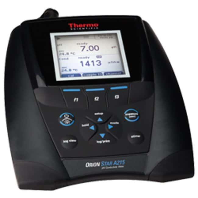 Thermo Scientific™Orion Star™ A215 pH/Conductivity Benchtop Multiparameter Meter: Multiparameter Meters Electrochemistry