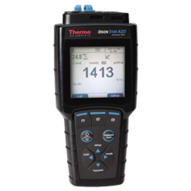 Thermo Scientific Orion Star A222 Conductivity Portable Meter:Testing and