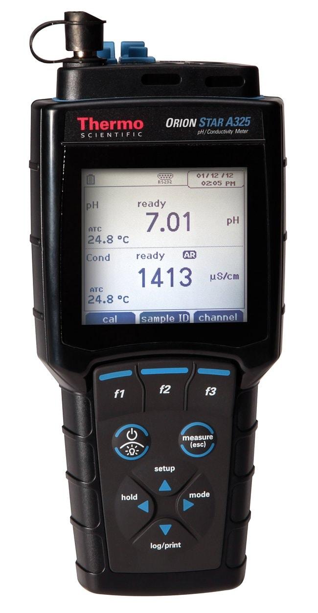 Thermo Scientific™Orion Star™ A325 pH/Conductivity Portable Multiparameter Meter: Multiparameter Meters Electrochemistry