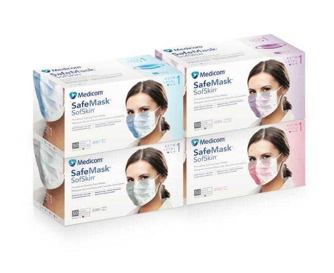 AMD MEDICOMSafeMask SofSkin Earloop Mask, ASTM 1:Personal Protective Equipment:Respiratory