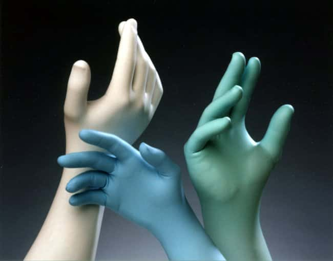 TechNiGlove International TN1200 Series Class 10 Nitrile Gloves Green;