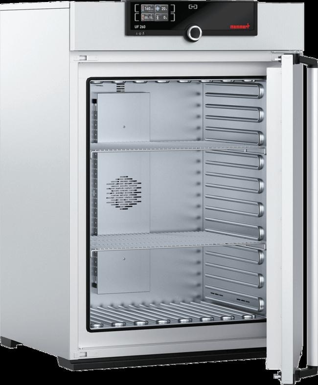 Memmert™Wärmeschrank mit SingleDISPLAY, forcierte Luftumwälzung Capacity: 256L; No. of Grids: 9 Memmert™Wärmeschrank mit SingleDISPLAY, forcierte Luftumwälzung