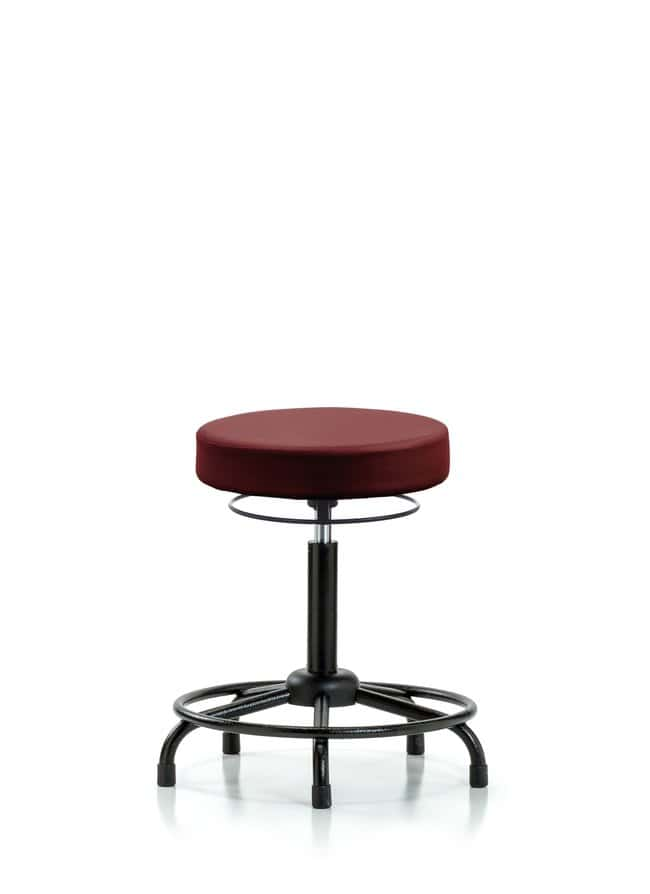 FisherbrandVinyl Stool without Back - Medium Bench Height with Round Tube