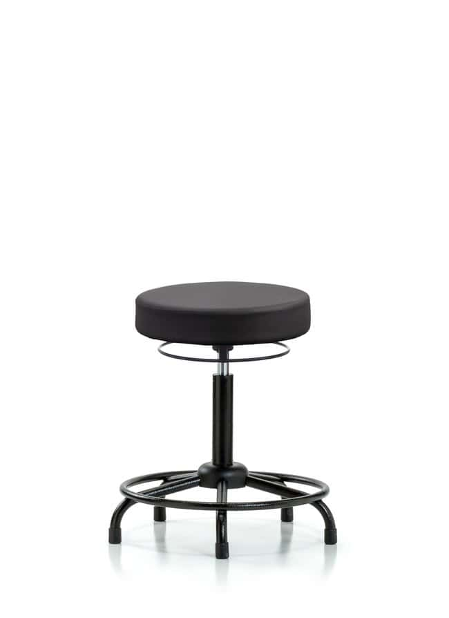 Fisherbrand Vinyl Stool without Back - Medium Bench Height with Round Tube