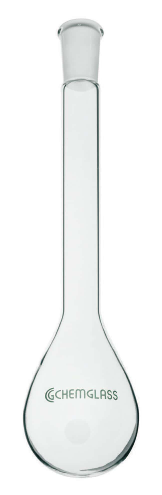 Chemglass Life Sciences100mL Kjeldahl Flask, Long Neck, 24/40 Outer Joint