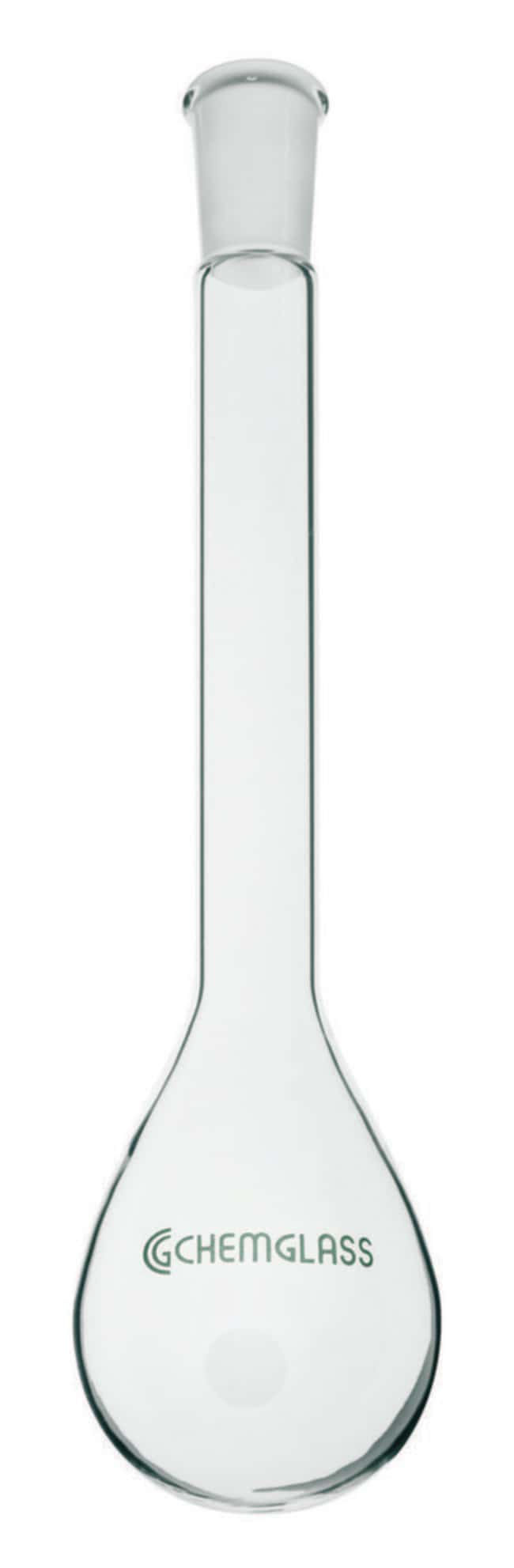 Chemglass Life Sciences100mL Kjeldahl Flask, Long Neck, 14/20 Outer Joint