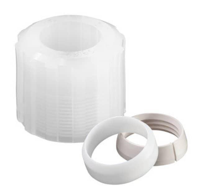"Chemglass Life Sciences 1/4"" PFA Compression Nut, Ferrule and Grip Ring"