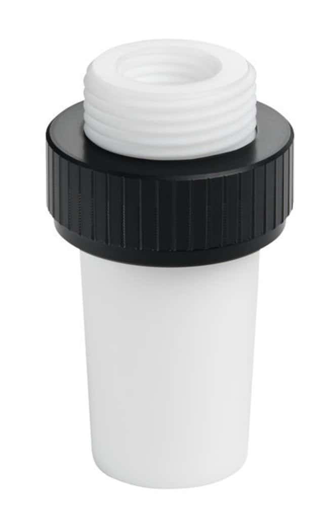 """Chemglass Life Sciences 29/42 PTFE Hollow Stopper, 1/4"""" NPT, Complete with"""