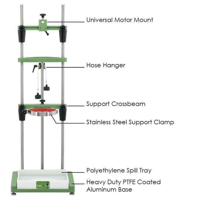 Chemglass Life Sciences ChemRxnHub Support Stand to Include: (1) CG-1949-X-10;