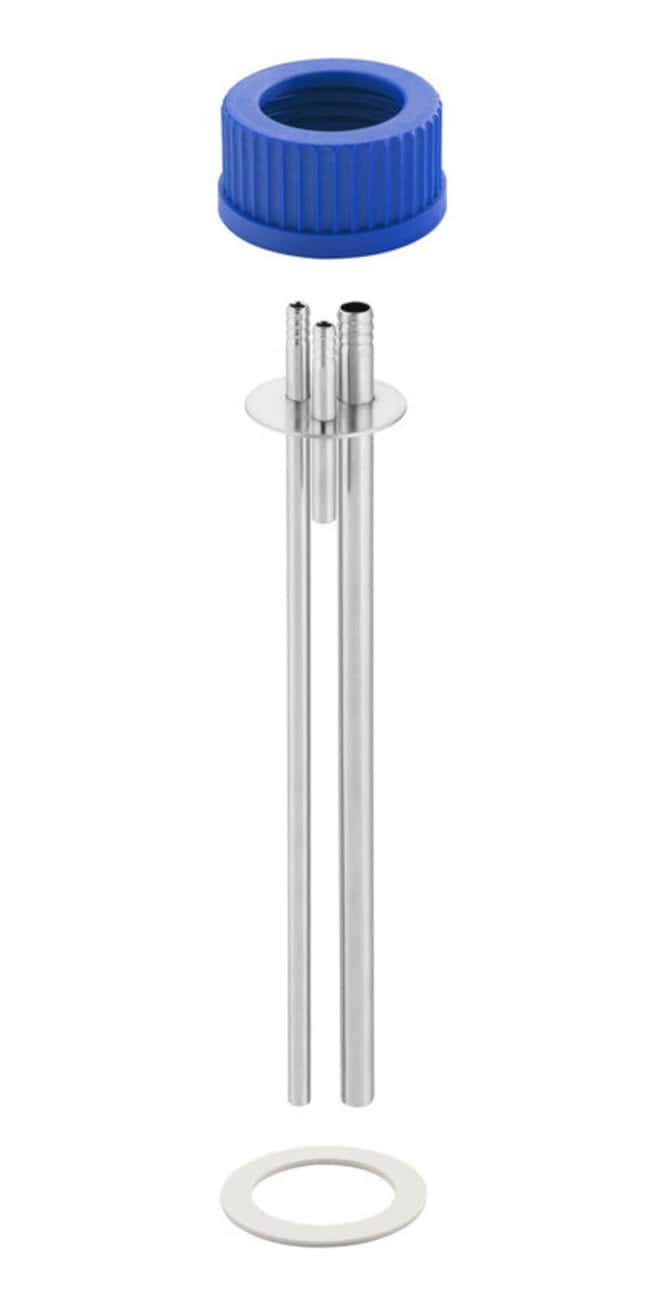 Chemglass Life Sciences 3-Port Thermowell Assembly for 8L VSA Vessels,