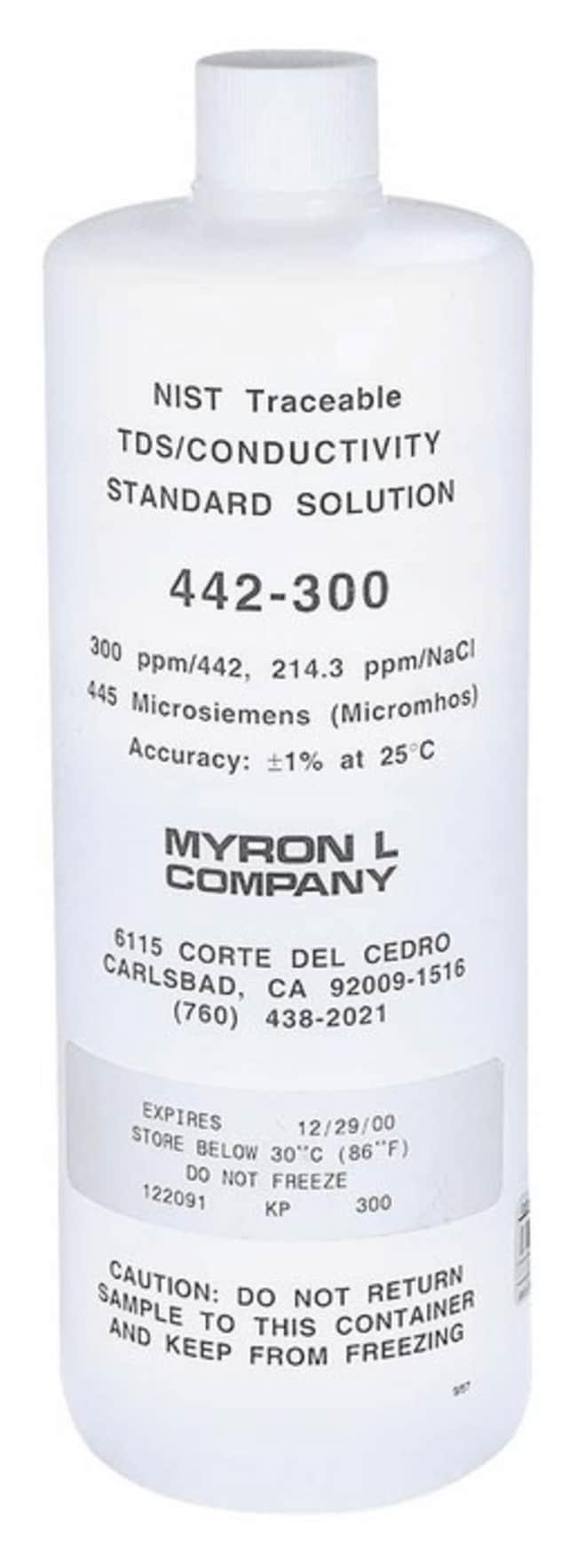 Cole-ParmerMyron L 15 QCP (NIST) conductivity calibration standard, 23.8