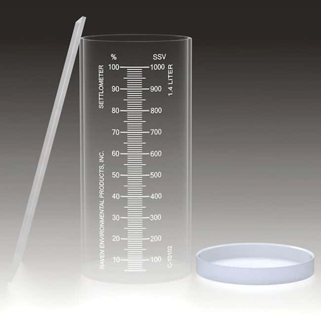 Cole-ParmerRaven Environmental C-10102 Settlometer Kit, acrylic, 1.4 L,