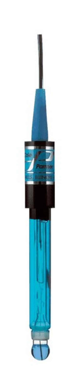 Cole-ParmerCole-Parmer pH Probe, SJ/Glass/100Ohm RTD/12 mm/10'; Tinned/BNC
