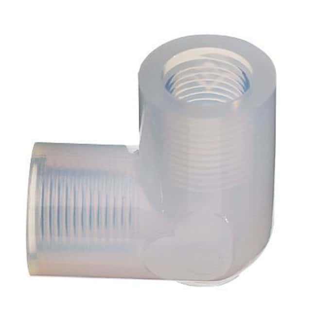 Cole-ParmerParker Hannifin PE-2-P Fitting, PFA, Elbow, Threaded Union,